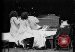 Image of Girls in white night dresses having a pillow fight United States USA, 1893, second 12 stock footage video 65675071525