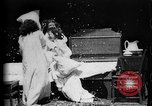 Image of Girls in white night dresses having a pillow fight United States USA, 1893, second 18 stock footage video 65675071525