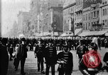 Image of Buffalo New York Police Department on parade Buffalo New York USA, 1897, second 12 stock footage video 65675071529