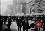 Image of Buffalo New York Police Department on parade Buffalo New York USA, 1897, second 13 stock footage video 65675071529
