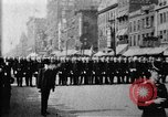 Image of Buffalo New York Police Department on parade Buffalo New York USA, 1897, second 16 stock footage video 65675071529