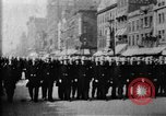 Image of Buffalo New York Police Department on parade Buffalo New York USA, 1897, second 21 stock footage video 65675071529