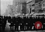 Image of Buffalo New York Police Department on parade Buffalo New York USA, 1897, second 23 stock footage video 65675071529