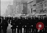 Image of Buffalo New York Police Department on parade Buffalo New York USA, 1897, second 24 stock footage video 65675071529