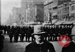 Image of Buffalo New York Police Department on parade Buffalo New York USA, 1897, second 29 stock footage video 65675071529