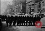 Image of Buffalo New York Police Department on parade Buffalo New York USA, 1897, second 30 stock footage video 65675071529