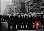 Image of Buffalo New York Police Department on parade Buffalo New York USA, 1897, second 33 stock footage video 65675071529