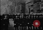 Image of Buffalo New York Police Department on parade Buffalo New York USA, 1897, second 39 stock footage video 65675071529