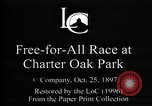 Image of harness pacing race Connecticut USA, 1897, second 3 stock footage video 65675071537