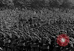 Image of German troops parade for Crown Prince Wilhelm Germany, 1933, second 5 stock footage video 65675071546