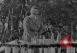 Image of German troops parade for Crown Prince Wilhelm Germany, 1933, second 10 stock footage video 65675071546