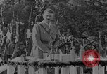 Image of German troops parade for Crown Prince Wilhelm Germany, 1933, second 11 stock footage video 65675071546