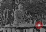 Image of German troops parade for Crown Prince Wilhelm Germany, 1933, second 14 stock footage video 65675071546