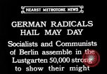 Image of Communists and Nazis clash in demonstrations on May Day in Berlin Berlin Germany, 1932, second 2 stock footage video 65675071549