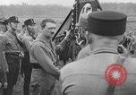 Image of Adolf Hitler in Nazi rally at Zeppelin Field in Nuremberg Germany, 1933, second 5 stock footage video 65675071551