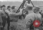 Image of Adolf Hitler in Nazi rally at Zeppelin Field in Nuremberg Germany, 1933, second 8 stock footage video 65675071551