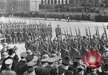Image of Adolf Hitler in Nazi rally at Zeppelin Field in Nuremberg Germany, 1933, second 17 stock footage video 65675071551