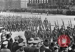 Image of Adolf Hitler in Nazi rally at Zeppelin Field in Nuremberg Germany, 1933, second 18 stock footage video 65675071551