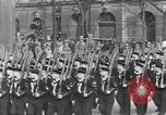 Image of Adolf Hitler in Nazi rally at Zeppelin Field in Nuremberg Germany, 1933, second 32 stock footage video 65675071551