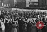 Image of Adolf Hitler in Nazi rally at Zeppelin Field in Nuremberg Germany, 1933, second 33 stock footage video 65675071551