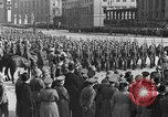 Image of Adolf Hitler in Nazi rally at Zeppelin Field in Nuremberg Germany, 1933, second 34 stock footage video 65675071551