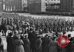 Image of Adolf Hitler in Nazi rally at Zeppelin Field in Nuremberg Germany, 1933, second 35 stock footage video 65675071551