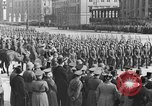 Image of Adolf Hitler in Nazi rally at Zeppelin Field in Nuremberg Germany, 1933, second 36 stock footage video 65675071551