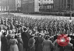 Image of Adolf Hitler in Nazi rally at Zeppelin Field in Nuremberg Germany, 1933, second 37 stock footage video 65675071551