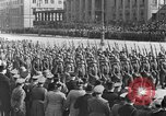 Image of Adolf Hitler in Nazi rally at Zeppelin Field in Nuremberg Germany, 1933, second 40 stock footage video 65675071551