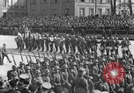 Image of Adolf Hitler in Nazi rally at Zeppelin Field in Nuremberg Germany, 1933, second 58 stock footage video 65675071551
