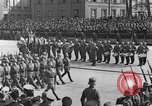 Image of Adolf Hitler in Nazi rally at Zeppelin Field in Nuremberg Germany, 1933, second 61 stock footage video 65675071551