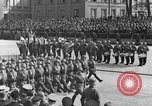 Image of Adolf Hitler in Nazi rally at Zeppelin Field in Nuremberg Germany, 1933, second 62 stock footage video 65675071551