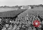 Image of Adolf Hitler at rally with German Storm troopers Germany, 1933, second 4 stock footage video 65675071554