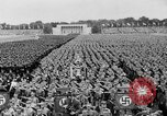 Image of Adolf Hitler at rally with German Storm troopers Germany, 1933, second 5 stock footage video 65675071554