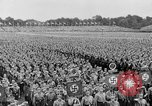 Image of Adolf Hitler at rally with German Storm troopers Germany, 1933, second 11 stock footage video 65675071554