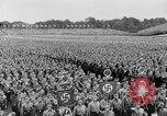 Image of Adolf Hitler at rally with German Storm troopers Germany, 1933, second 12 stock footage video 65675071554