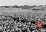 Image of Adolf Hitler at rally with German Storm troopers Germany, 1933, second 14 stock footage video 65675071554