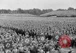 Image of Adolf Hitler at rally with German Storm troopers Germany, 1933, second 15 stock footage video 65675071554