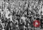 Image of Adolf Hitler at rally with German Storm troopers Germany, 1933, second 25 stock footage video 65675071554