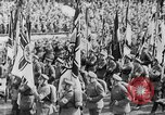 Image of Adolf Hitler at rally with German Storm troopers Germany, 1933, second 26 stock footage video 65675071554