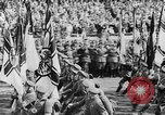 Image of Adolf Hitler at rally with German Storm troopers Germany, 1933, second 28 stock footage video 65675071554