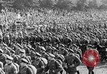 Image of Adolf Hitler at rally with German Storm troopers Germany, 1933, second 29 stock footage video 65675071554