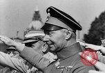 Image of Adolf Hitler at rally with German Storm troopers Germany, 1933, second 43 stock footage video 65675071554