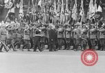 Image of Adolf Hitler at rally with German Storm troopers Germany, 1933, second 60 stock footage video 65675071554