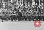 Image of Adolf Hitler at rally with German Storm troopers Germany, 1933, second 61 stock footage video 65675071554