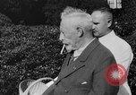 Image of Kaiser Wilhelm II in exile Holland, 1933, second 15 stock footage video 65675071555
