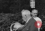 Image of Kaiser Wilhelm II in exile Holland, 1933, second 23 stock footage video 65675071555