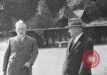 Image of Kaiser Wilhelm II in exile Holland, 1933, second 31 stock footage video 65675071555