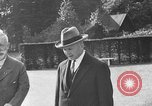 Image of Kaiser Wilhelm II in exile Holland, 1933, second 32 stock footage video 65675071555
