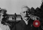 Image of Kaiser Wilhelm II in exile Holland, 1933, second 60 stock footage video 65675071555